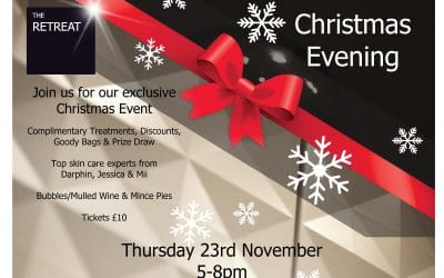 Come and join us for our exclusive Christmas Event.